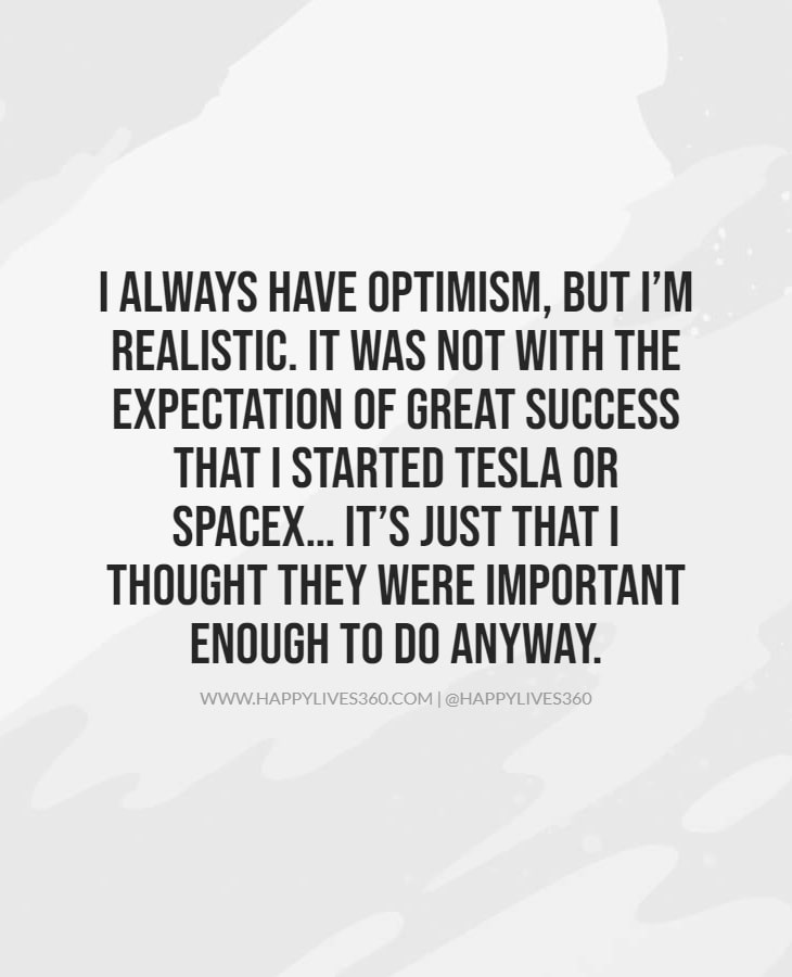 Elon Musk Quotes About Success & Funny