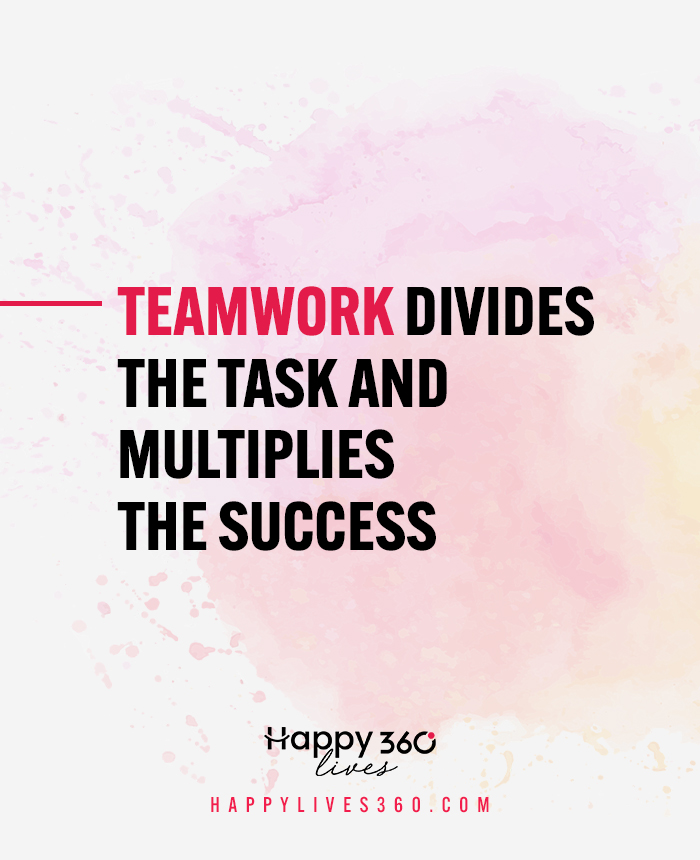 inspire quotes about team spirit working together as teamwork