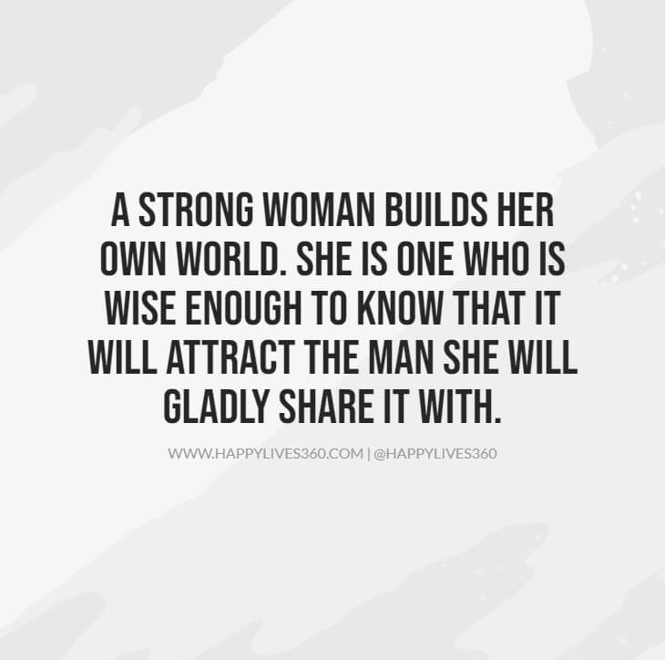 strong independent hard working woman quotes