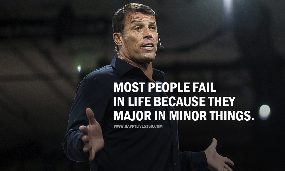 Tony Robbins Quotes 41 Motivational Sayings On Life Love