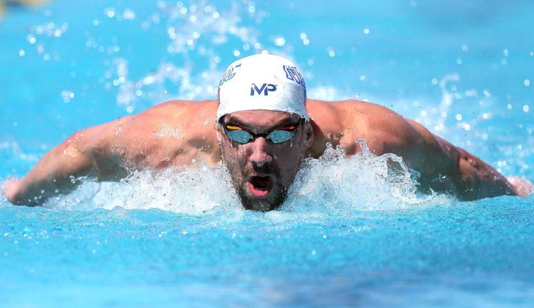 Michael Phelps fastest swimmer