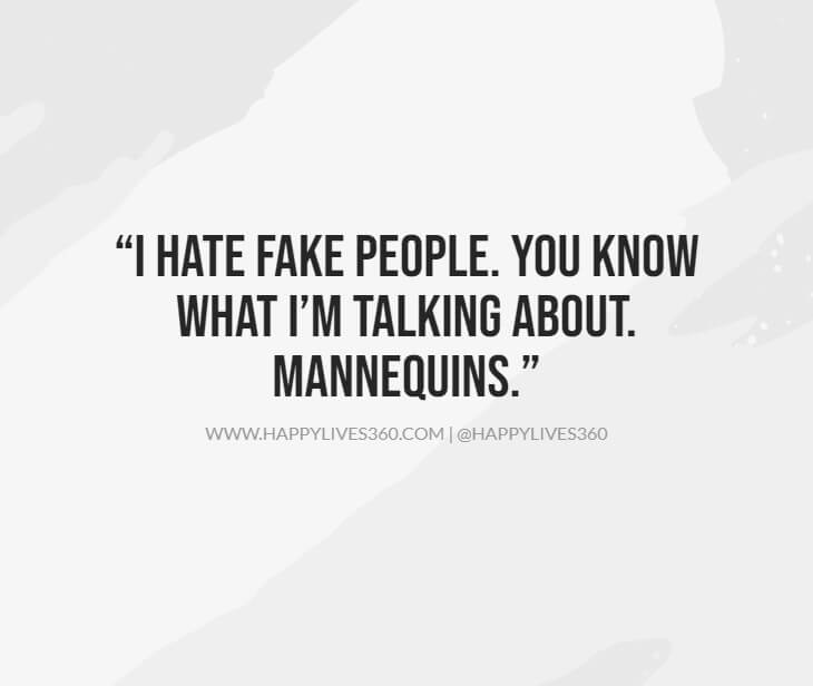 49short quotes about fake friends