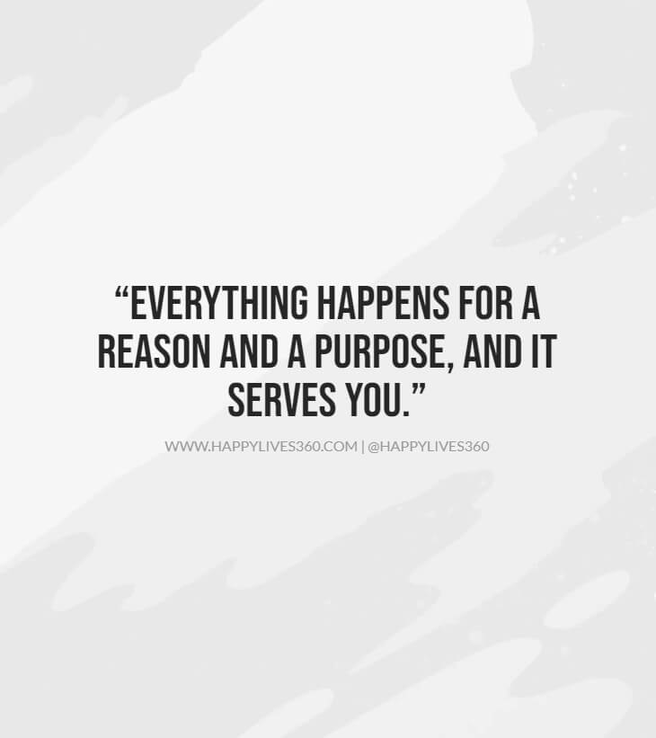things happen for a reason or coincidence quotes