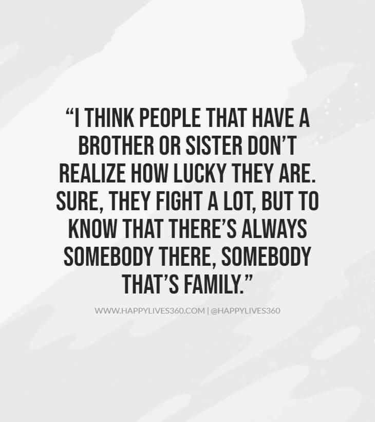 26sister to brother bond quotes