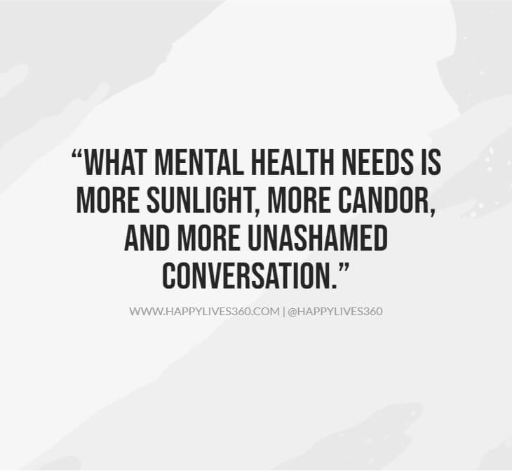 2important to raise awareness about mental illness quotes