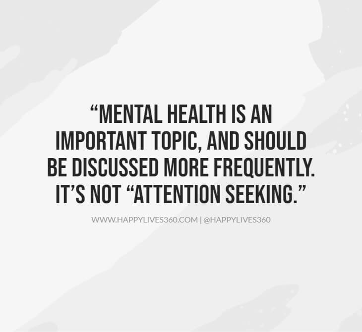 5important to learn about mental health quotes